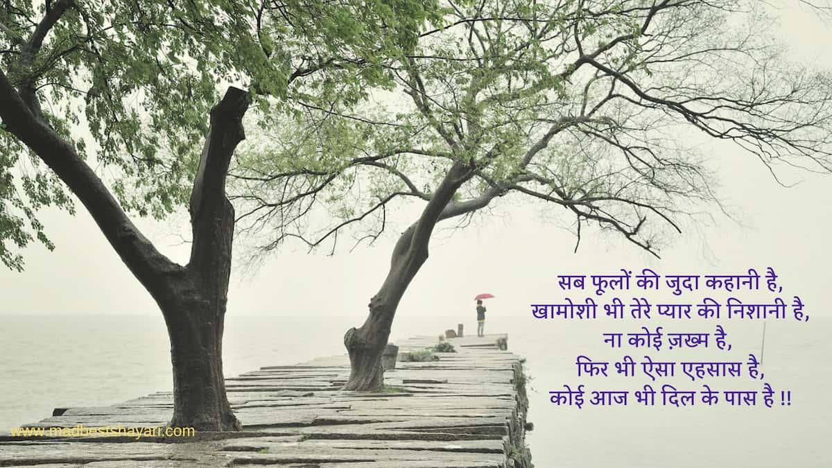 Hindi Khamoshi Shayari